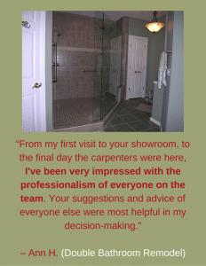 Bathroom Remodel - Testimonial