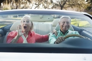 Old People in Car
